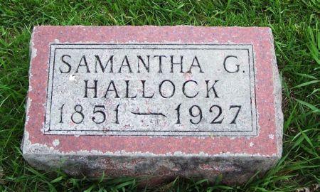HALLOCK, SAMANTHA G. - Guthrie County, Iowa | SAMANTHA G. HALLOCK