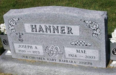 HANNER, JOSEPH A. - Guthrie County, Iowa | JOSEPH A. HANNER