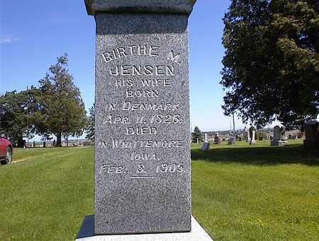 HANSEN, BIRTHE M. - Guthrie County, Iowa | BIRTHE M. HANSEN