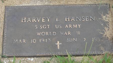HANSEN, HARVEY L - Guthrie County, Iowa | HARVEY L HANSEN