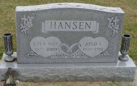 HANSEN, LOLA MAY - Guthrie County, Iowa | LOLA MAY HANSEN