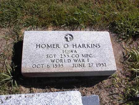 HARKINS, HOMER O - Guthrie County, Iowa | HOMER O HARKINS
