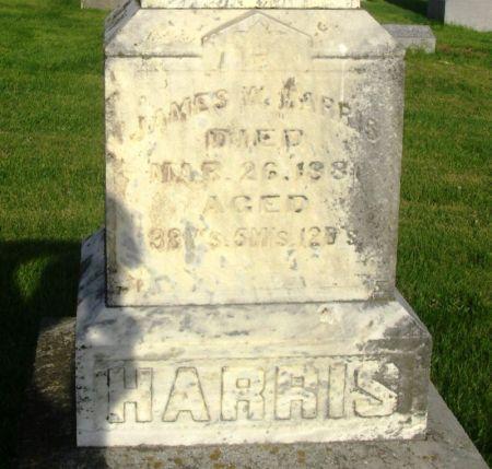 HARRIS, JAMES W. - Guthrie County, Iowa   JAMES W. HARRIS