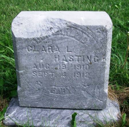 HASTING, CLARA . - Guthrie County, Iowa | CLARA . HASTING