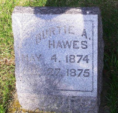 HAWES, BURTIE A. - Guthrie County, Iowa | BURTIE A. HAWES