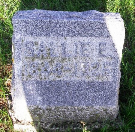 HAWES, SALLIE E. - Guthrie County, Iowa   SALLIE E. HAWES