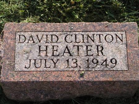 HEATER, DAVID CLINTON - Guthrie County, Iowa | DAVID CLINTON HEATER