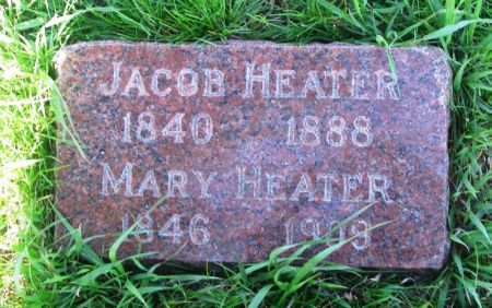 HEATER, MARY - Guthrie County, Iowa | MARY HEATER