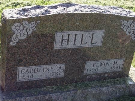 HILL, CAROLINE A - Guthrie County, Iowa | CAROLINE A HILL