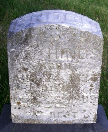 HINDS, ENOCH - Guthrie County, Iowa | ENOCH HINDS