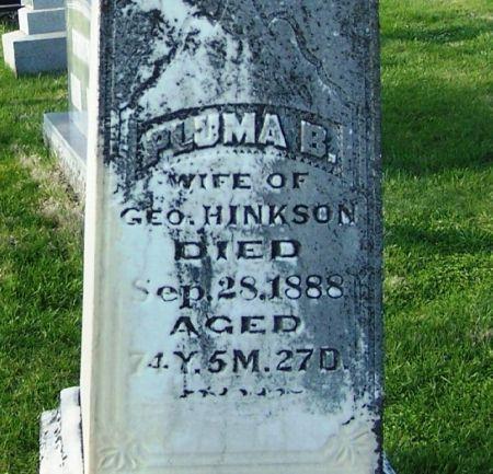 HINKSON, PLUMBA B - Guthrie County, Iowa   PLUMBA B HINKSON