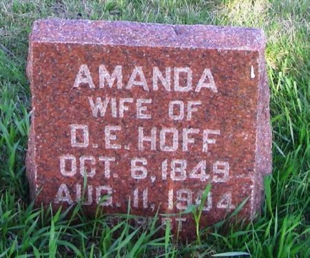HOFF, AMANDA - Guthrie County, Iowa | AMANDA HOFF