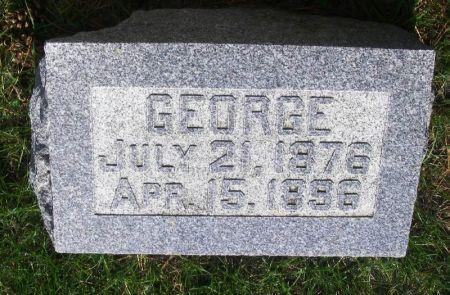 HOOPES, GEORGE - Guthrie County, Iowa   GEORGE HOOPES
