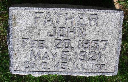 HOOPES, JOHN - Guthrie County, Iowa   JOHN HOOPES