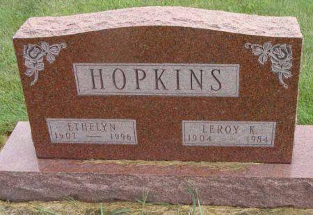 HUSS HOPKINS, ETHELYN - Guthrie County, Iowa | ETHELYN HUSS HOPKINS