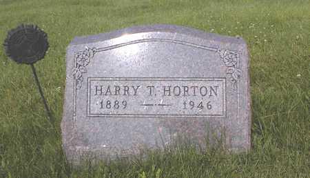 HORTON, HARRY T. - Guthrie County, Iowa   HARRY T. HORTON