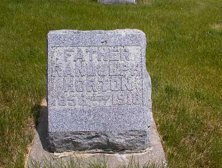 HORTON, RANDOLPH - Guthrie County, Iowa | RANDOLPH HORTON