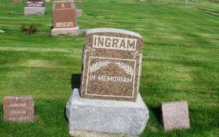INGRAM, GEORGE G. FAMILY STONE - Guthrie County, Iowa | GEORGE G. FAMILY STONE INGRAM