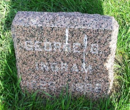 INGRAM, GEORGE G. - Guthrie County, Iowa | GEORGE G. INGRAM