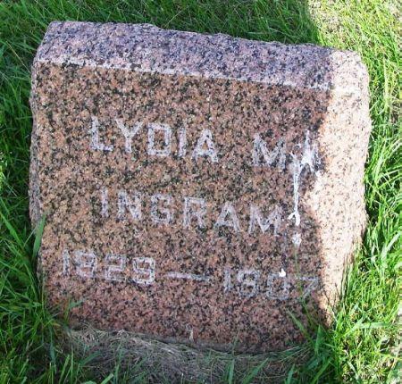 INGRAM, LYDIA M. - Guthrie County, Iowa | LYDIA M. INGRAM