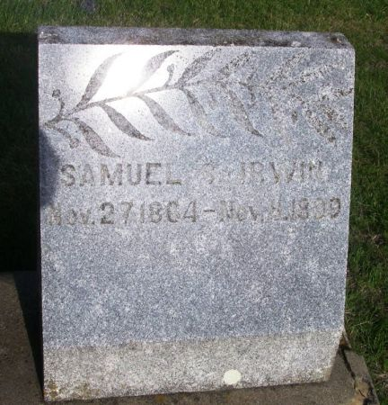 IRWIN, SAMUEL S. - Guthrie County, Iowa | SAMUEL S. IRWIN