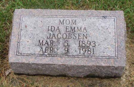 JACOBSEN, IDA EMMA - Guthrie County, Iowa | IDA EMMA JACOBSEN