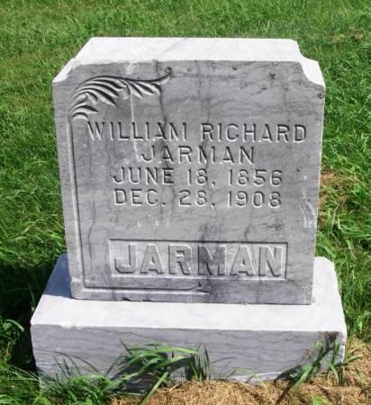 JARMAN, WILLIAM RICHARD - Guthrie County, Iowa | WILLIAM RICHARD JARMAN