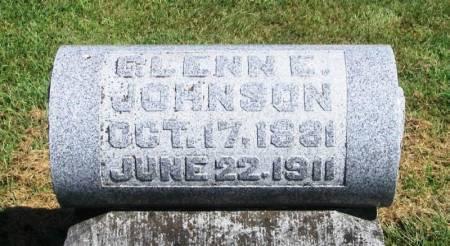 JOHNSON, GLENN E. - Guthrie County, Iowa   GLENN E. JOHNSON