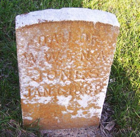 JONES, INFANT - Guthrie County, Iowa | INFANT JONES
