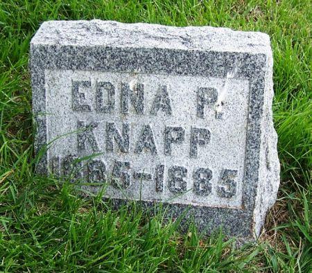 KNAPP, EDNA P. - Guthrie County, Iowa | EDNA P. KNAPP