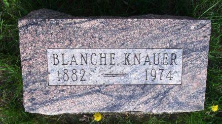 KNAUER, BLANCHE - Guthrie County, Iowa   BLANCHE KNAUER