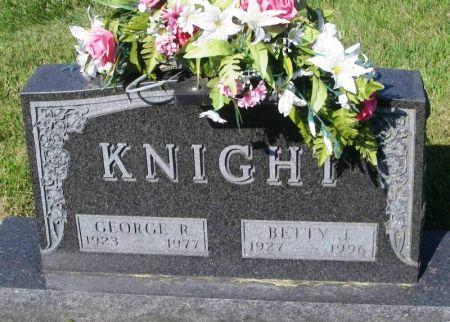 KNIGHT, GEORGE R. - Guthrie County, Iowa   GEORGE R. KNIGHT