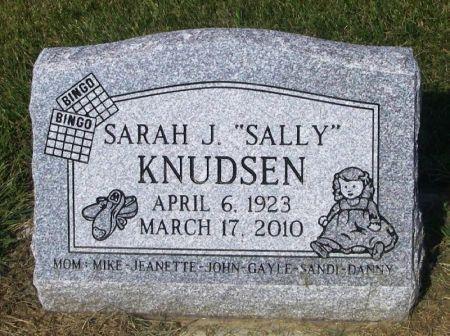KNUDSEN, SARAH J.