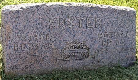 KUSTER, MEDA - Guthrie County, Iowa | MEDA KUSTER