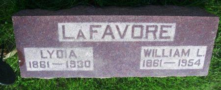 LAFAVORE, WILLIAM L. - Guthrie County, Iowa | WILLIAM L. LAFAVORE