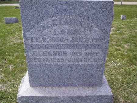LAMB, ALEXANDER - Guthrie County, Iowa | ALEXANDER LAMB