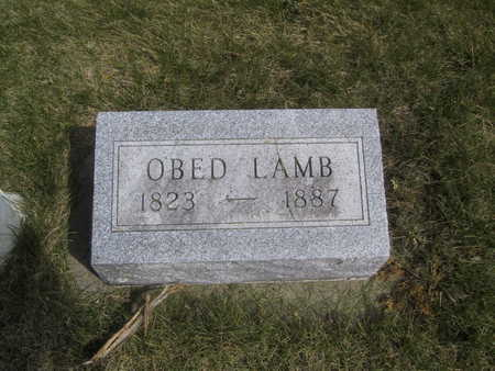 LAMB, OBED - Guthrie County, Iowa | OBED LAMB
