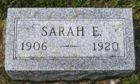 LAMB, SARAH E. - Guthrie County, Iowa   SARAH E. LAMB