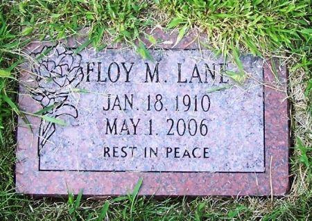 LANE, FLOY M. - Guthrie County, Iowa   FLOY M. LANE