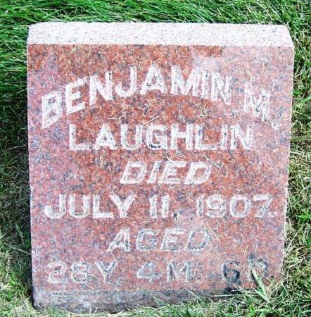 LAUGHLIN, BENJAMIN M. - Guthrie County, Iowa | BENJAMIN M. LAUGHLIN
