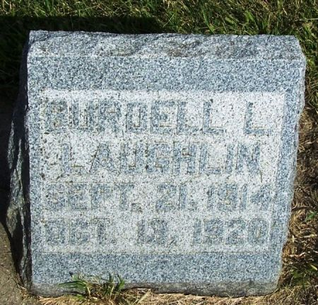 LAUGHLIN, BURDELL L. - Guthrie County, Iowa | BURDELL L. LAUGHLIN