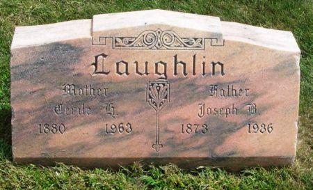 LAUGHLIN, CECILE H. - Guthrie County, Iowa | CECILE H. LAUGHLIN