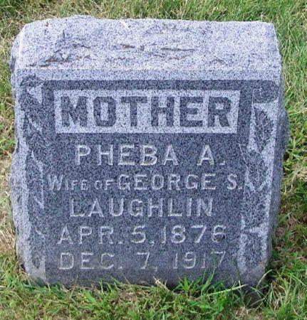 LAUGHLIN, PHEBA A. - Guthrie County, Iowa | PHEBA A. LAUGHLIN