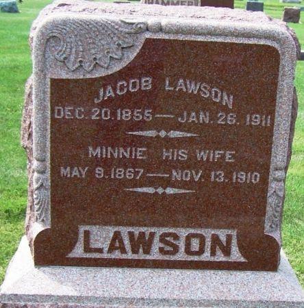 LAWSON, JACOB - Guthrie County, Iowa   JACOB LAWSON
