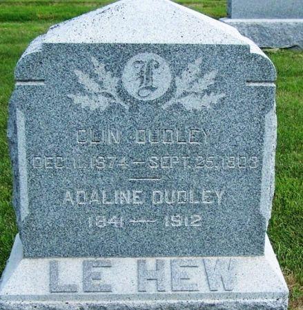 LEHEW, MOSES S. FAMILY STONE - Guthrie County, Iowa   MOSES S. FAMILY STONE LEHEW