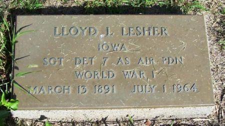 LESHER, LLOYD L. - Guthrie County, Iowa | LLOYD L. LESHER