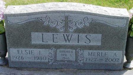 LEWIS, ELSIE I. - Guthrie County, Iowa | ELSIE I. LEWIS