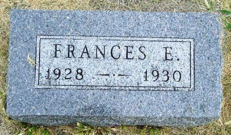 LIGGETT, FRANCES E. - Guthrie County, Iowa | FRANCES E. LIGGETT