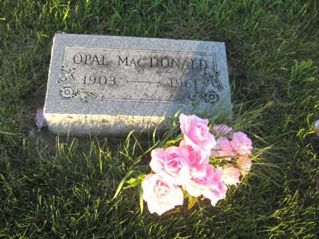CROSS MACDONALD, OPAL - Guthrie County, Iowa | OPAL CROSS MACDONALD