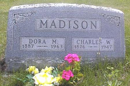 MADISON, DORA M. - Guthrie County, Iowa | DORA M. MADISON